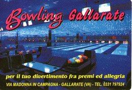 B 2611 - Calendarietto, Gallarate VA Bowling - Calendarios