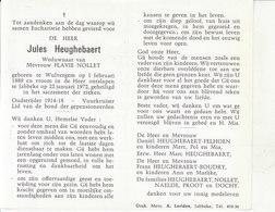 Jules Heughebaert (1889-1972) ~ Oudstrijder (1914-1918) - Images Religieuses