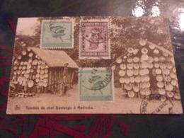 AFRIQUE CONGO BELGE VOYAGEE TIMBRE / STAMPS  TOMBES DE CHEF BANTANDU A MADIMBA  1931 - Congo Belga - Altri