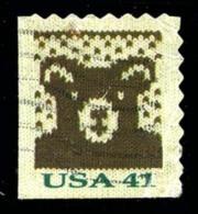 Etats-Unis / United States (Scott No.4218 - Noël / 2007 / Christmas) (o) P2 [Perf. 8] ATM - United States