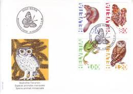 Svizzera 1995 - FDC Animali In Estinzione - FDC