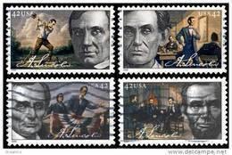 Etats-Unis / United States (Scott No.4380-83 - Abraham Lincoln) (o) - United States