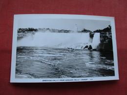 RPPC-- American Falls From Canada > Ontario >  Niagara Falls---ref    3573 - Ontario