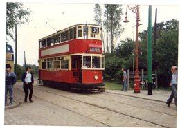 35mm ORIGINAL PHOTO BUS UK TRAMWAY ABBEY WOOD N°38 - F176 - Trains