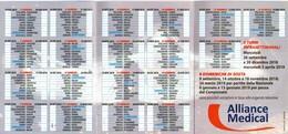 B 2615 - Calendarietto, Sampdoria, Calcio - Calendars