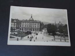 ZAGREB CROATIA - TRG KRALJA TOMISLAVA - TRAVELLED - Croatia