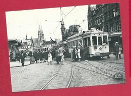 C.P. Oostende  =  TRAM   Place  Van Der  Sweep  Actuellement   Ernest FEYPLAATS - Oostende