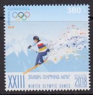 5.- ARMENIA 2018 23rd Winter Olympic Games - PyeongChang 2018 - Winter 2018: Pyeongchang