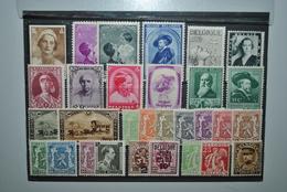 Belgique 1931/39 MH - Unused Stamps