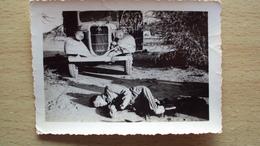 AFRICA ORIENTALE COLONIE ITALIANE HARAR FOTO FORMATO PICCOLO MILITARE  IN DIVISA - Altri