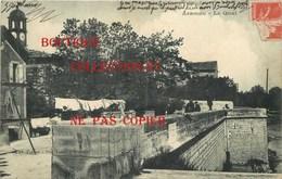 30 ☺♦♦ ARAMON < LE QUAI Avec ETENDOIR à LINGE - SECHAGE De La LESSIVE - Aramon