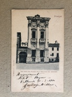 VICENZA UNA PARTE DEL PALAZZO DELLA BIBLIOTECA DEL SEMINARIO 1900 - Vicenza