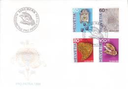 Svizzera 1994 - FDC Pro Patria, Artigianato - FDC