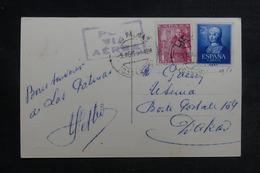 ESPAGNE - Carte Postale De Las Palmas Pour Dakar En 1951 Par Avion - L 41170 - 1931-Today: 2nd Rep - ... Juan Carlos I