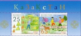 Kazakhstan 2007.  Europe. Europa - CEPT.  Centenary Of The Scout Movement.. Mi. # 580-581Zd. MNH - 2007