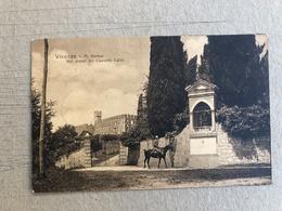 VICENZA M. BERICO NEI PRESSI DEL CASTELLO CALVI  1916 - Vicenza