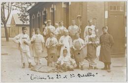 CPA-Photo - Militaires Cuisine Des 2e Et 3e Bataillons (1912) - Régiments