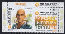 2.- ARMENIA 2018 Laureates Of Aurora Prize - Tom Catena - Salud
