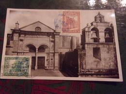 République Dominicaine Belle Oblitération  VOYAGEE TIMBRE / STAMPS   1931SANTO DOMINGO LA CATHEDRALE SAINT DOMINGUE - Repubblica Dominicana