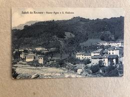 SALUTI DA RECOARO FIUME AGNO E S. GIULIANA - Vicenza
