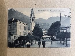 SALUTI DA RECOARO PIAZZA VITTORIO EMANUELE - Vicenza