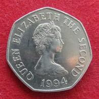 Jersey 50 Pence 1994 KM# 58.1   *V2 - Jersey
