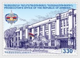 2.- ARMENIA 2018 Armenian Statehood - 100th Anniversary Of The RA Prosecutor's Office - Armenia