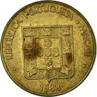 Monnaie, Macau, 10 Avos, 1988, TTB, Laiton, KM:20 - Macau