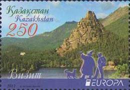 Kazakhstan 2012.  Europe. Europa - CEPT. Visit.. Mi. # 744. MNH - Europa-CEPT