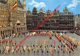 Groupe De L'Ommegang - Drapeaux Des Corporations - Brussel Bruxelles - Brussel (Stad)