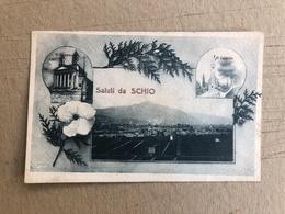 SALUTI DA SCHIO  1918 - Vicenza