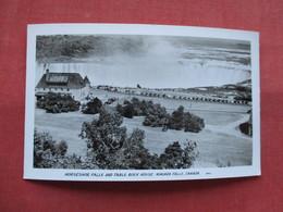 RPPC--    Horseshoe Falls Table Rock House    Canada > Ontario >  Niagara Falls---ref    3573 - Ontario