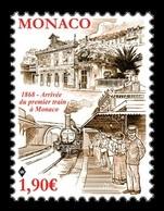 Monaco 2018 Mih. 3403 Arrival Of The First Train In Monaco MNH ** - Monaco