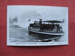RPPC--    Maid Of The Mist  Pleasure Boat     Canada > Ontario >  Niagara Falls---ref    3573 - Ontario