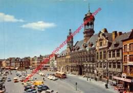 Hôtel De Ville Et La Place - Mons - Mons