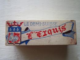 VILLEBAROU - Laiterie BILLAULT - Boite LE DEMI-SUISSE L'Exquis - France