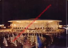 The Pavilion Of The U.S.A. By Night - Brussel Bruxelles - Wereldtentoonstellingen