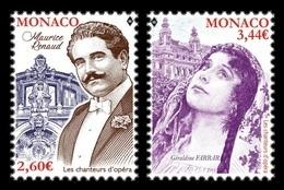 Monaco 2019 Mih. 3436/37 Music. Opera Singers Maurice Renaud And Geraldine Farrar MNH ** - Neufs