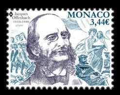 Monaco 2019 Mih. 3457 Music. Composer Jacques Offenbach MNH ** - Monaco