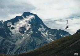 38 Les Deux Alpes, Le Pic De La Muzelle Et Le Télésiège Des Cimes - Autres Communes