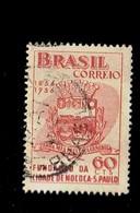 BRESIL.(Y&T) . 1955 - N°617   *Centenaire De La Ville De Mococa*     60c.    Obl. - Brésil