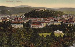 Ljubljana (Laibach) * Burg, Stadt, Teilansicht * Slowenien * AK234 - Slovenia