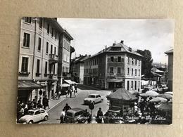 ASIAGO PIAZZA MAZZINI E VIA LOBBIA  1964 - Vicenza