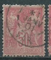 Timbre Type II Sage Yvt 98 Obliteration - 1876-1898 Sage (Type II)