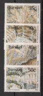 Transkei - 1990 - N°Yv.  246 à 249 - Fossiles / Fossils - Neuf Luxe ** / MNH / Postfrisch - Transkei