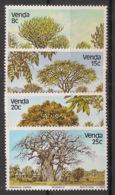 Venda - 1982 - N°Yv. 62 à 65 - Arbres / Trees - Neuf Luxe ** / MNH / Postfrisch - Venda