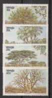 Venda - 1983 - N°Yv. 78 à 81 - Arbres / Trees - Neuf Luxe ** / MNH / Postfrisch - Venda