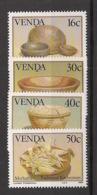 Venda - 1989 - N°Yv. 183 à 186 - Traditional Kitchenware - Neuf Luxe ** / MNH / Postfrisch - Venda
