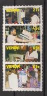 Venda - 1992 - N°Yv. 233 à 236 - Clothing Factory - Neuf Luxe ** / MNH / Postfrisch - Venda