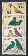 Venda - 1994 - N°Yv. 273 à 276 - Oiseaux / Birds - Neuf Luxe ** / MNH / Postfrisch - Venda
